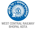West Central Railway Bhopal and Kota
